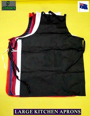 Brand NEW Kitchen Aprons with Front Pocket (4 colors available) LARGE SIZE