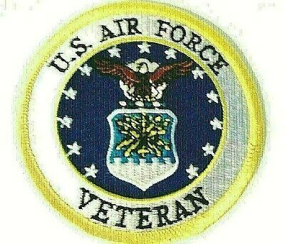 U.S. Air Force Veteran Patch    3""