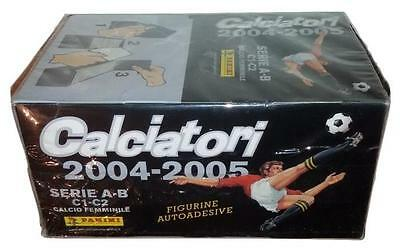 Calciatori 2004-2005 Box 100 Packs Stickers Panini