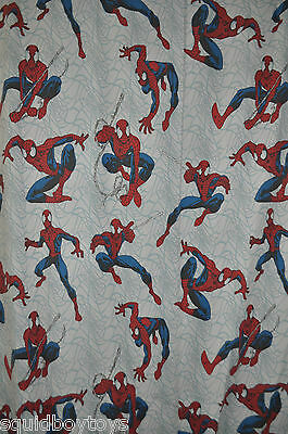AMAZING SPIDER-MAN  FLAT & FITTED BED SHEET + PILLOWCASE Marvel Comics