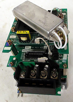 1 USED YASKAWA JUSP-WS30AA SERVO AMPLIFIER w/FUJI 6MBP100RA060-05 POWER MODULE