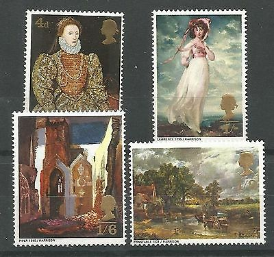 1968 British Paintings Set Unmounted Mint