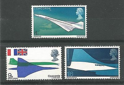 1969 First Flight of Concorde Set Unmounted Mint