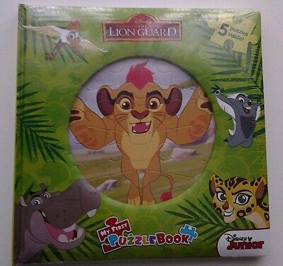 New From Disney The Lion Guard: My First Puzzlebook Brand New +Sealed