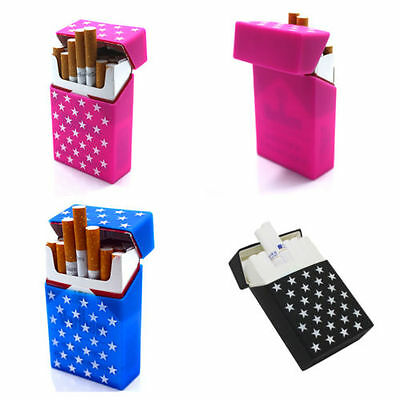 Cigarette case STARS made of Silicone box 20er packs Selection