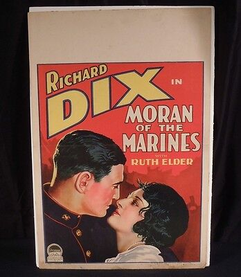1928 Moran of the Marines Window Card Poster      44949