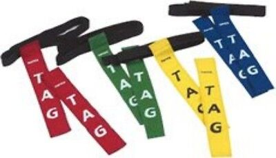Rugby Tag Belt Green One Size NEW Training Game Reaction Aid