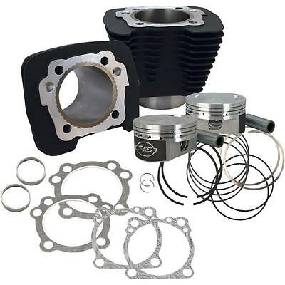 S&S Cycle Silver 1250cc Conversion Kit Black 10.3:1CR Sportster XL  910-0443
