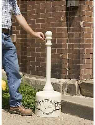 Outdoor Cigarette Butt Receptacle Commercial AshTray Smokers Can Pole Patio Deck