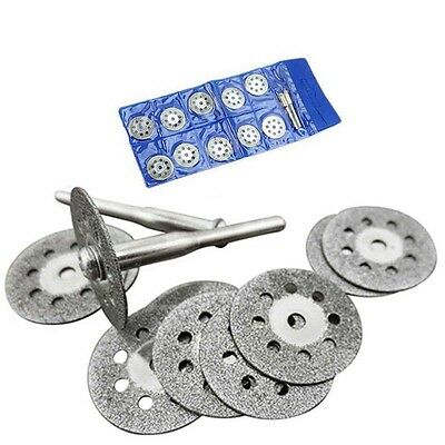 10pcs 22mm Rotary Tool Accessory Set Fits Craftsman Diamond Cut Off Wheel