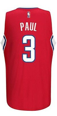 Canotta/jersey Collezione-Basket Nba-Los Angeles Clippers-Chris Paul #3-Rossa