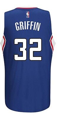 Canotta/jersey Collezione-Basket Nba-Los Angeles Clippers-Blake Griffin #32-Blu