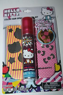 Hello Kitty COLOR HAIR SPRAY & STENCIL KIT 28.3g