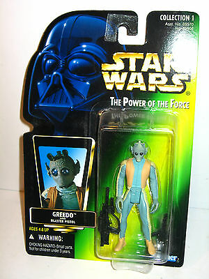 STAR WARS Power of the Force - Greedo Actionfigur Kenner NEU (LR6)