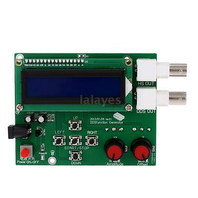 LCD DDS Function Generator Signal Module Sine Square Triangle Wave DC7-9V Z0T3