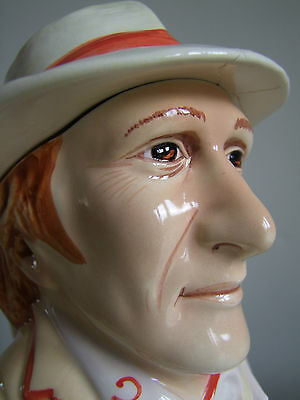 Doctor Who Character jug Limited Edition Bovey Pottery Toby Jug Peter Davison