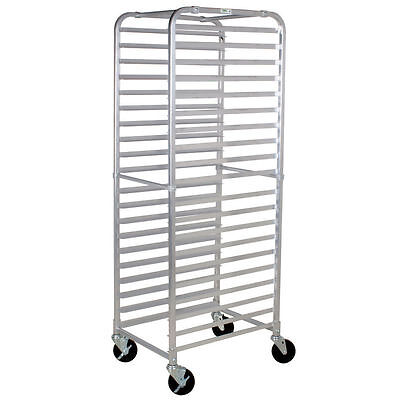 Commercial Kitchen 20 Tier Aluminum Bum Pan Rack / Sheet Pan Rack - Unassembled