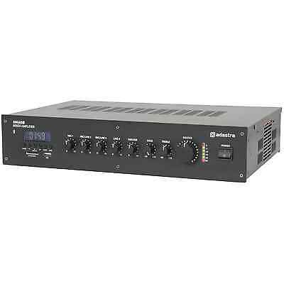 Adastra RM60B 5 channel 100V Mixer Amp with Bluetooth
