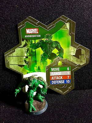 Abomination  Heroscape Marvel Master Set Figure And Card Conflict Begins Replace