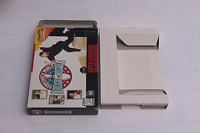 Super Nintendo SNES - Brunswick World Tournament of Champions - box Only NO GAME