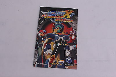 Nintendo Gamecube - Megaman X Command Mission - Instruction Manual Only FRENCH