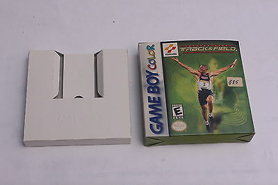 Nintendo Gameboy Color - International Track &  Field - Box Only NO GAME