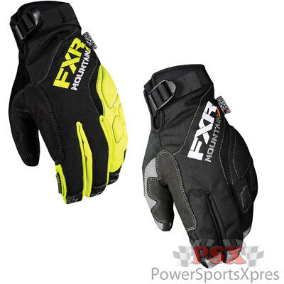 FXR Attack Lite Snowmobile Gloves  ~ New 2018