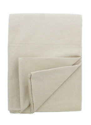 ABN Premium 4' x 5' Foot Small Canvas Cotton Drop Cloth All Purpose Paint Shield