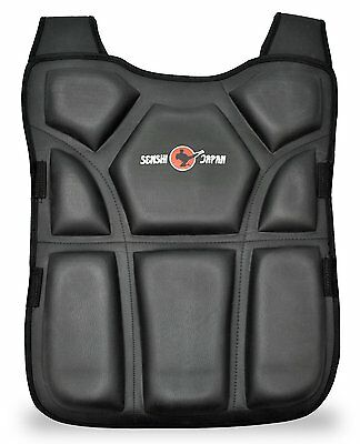 Senshi Japan Weighted Weight Vest Running Adjustable Jacket Training Crossfit