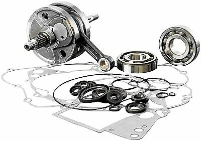 Wiseco Bottom End Rebuild Kit Gaskets Seals Kawasaki Kx250 1992-2001 Crankshaft