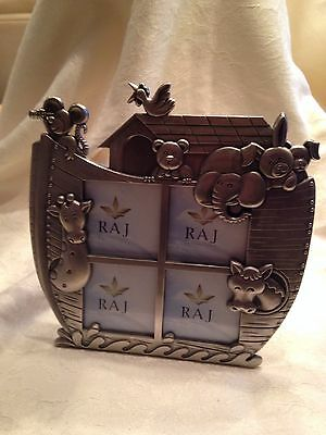 Noahs Ark Baby Picture Frame
