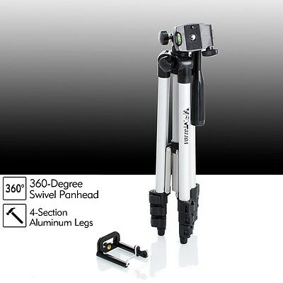 Universal Portable Aluminium Camera Tripod Stand For Nikon Olympus SLR Camcorder