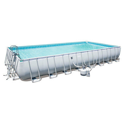 Bestway Above Ground Swimming Pool 956x488x132cm 56480 New Size 2017