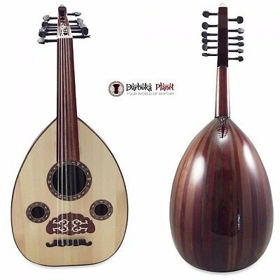"Professional Egyptian Oud ""Egyptian Beauty"" Gawharet El Fan with Soft  case"