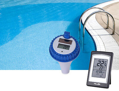 Wireless Digital Swimming Pool Thermometer SPA Floating Thermometer Indoor