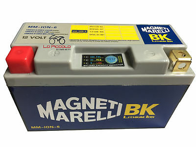 DMLIT6 BATTERIA LITIO MAGNETI MARELLI YT14B-BS DUCATI Monster / ABS 796 2010 11
