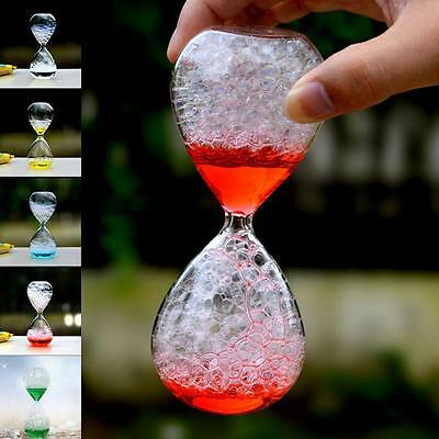 Hot Magic Valentines Gift Awaglass Hand-blown Timer Bubble Hourglass Christmas