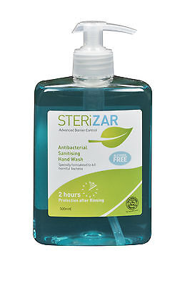 STERiZAR 500ml Antibacterial Sanitising Hand Wash - Alcohol Free