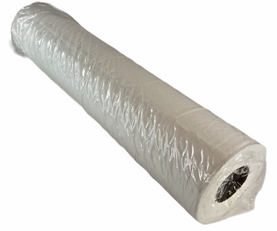 "Professional 2ply White Hygiene Couch Paper Roll - 20"" x 40m"