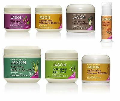 Jason Natural Cosmetic Organic Face Creme Aloe Vera Cocoa Butter Yam Vitamins