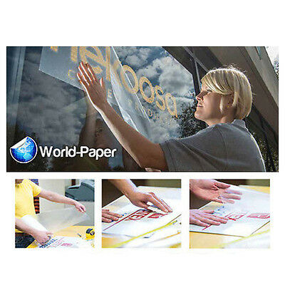 "Tape PAPER 4075 Application Transfer Tape Vinyl Signs R TAPE 6"" x 300Ft :)"