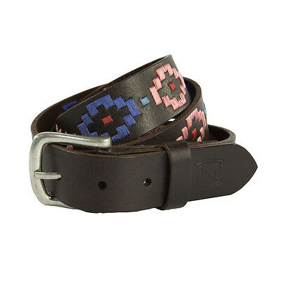 Noble Outfitters Palermo Belt - Brown & Sweet Lilac - Different Sizes