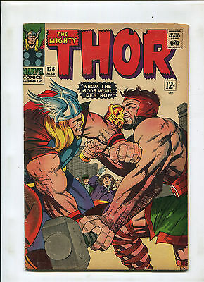 The Mighty Thor 126 (3.5) Vs. Hercules 1St Issue In Title! Key