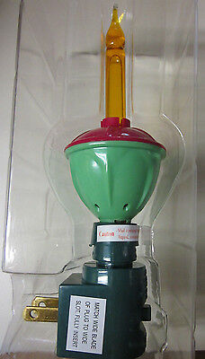 Midwest CBK- Lights in the Night-Christmas Candle ornament- night light