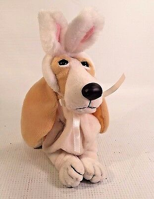 Basset Hound  Bunny Ears Applause Plush Hush Puppies Collection