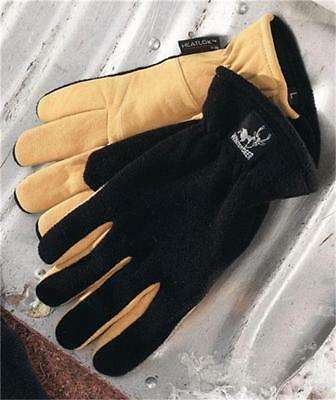 Battery Operated Heated Winter Work Gloves Super Soft Lining Palm Patch-4 Sizes