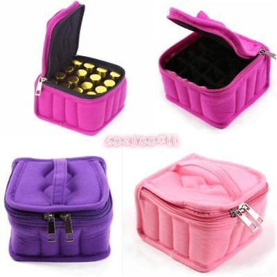 Travel Aromatherapy Diffuseer Essential Oil Storage Carry Bag Case Box 5/10/15ml