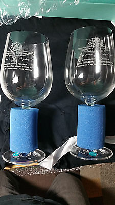 Indy 500 Tiffany Wine Glass Rare 2006 Christmas Gift - racing indianapolis prix