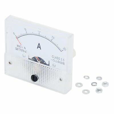 New 20A Analog Ampere Panel Meter Current Amp