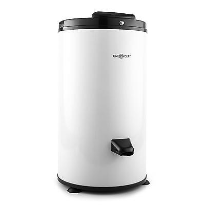 Low Noise Compact Spin Drying Machine 6Kg Load 3200 Rpm Stainless Steel - White